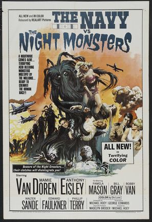 The Navy vs. the Night Monsters - Movie Poster (thumbnail)