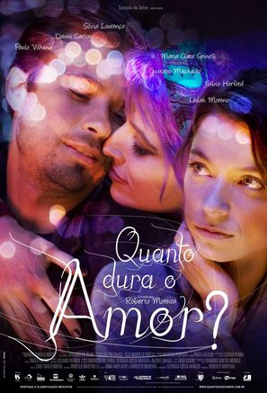 Quanto Dura o Amor? - Brazilian Movie Poster (thumbnail)