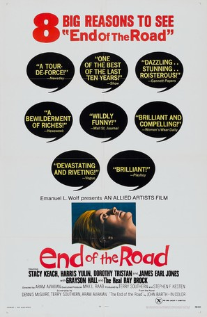End of the Road - Movie Poster (thumbnail)