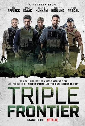 Triple Frontier - Movie Poster (thumbnail)