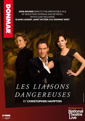National Theatre Live: Les Liaisons Dangereuses - British Movie Poster (thumbnail)