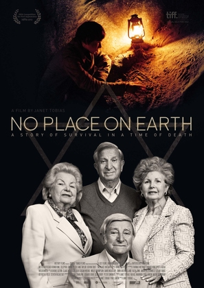 No Place on Earth - British Movie Poster (thumbnail)