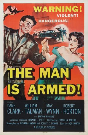 The Man Is Armed - Movie Poster (thumbnail)