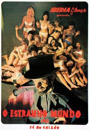 Estranho Mundo de Zè do Caixão, O - Italian Movie Poster (thumbnail)