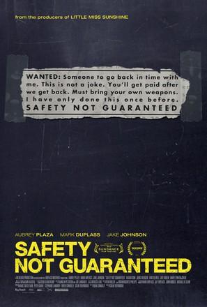 Safety Not Guaranteed - Movie Poster (thumbnail)