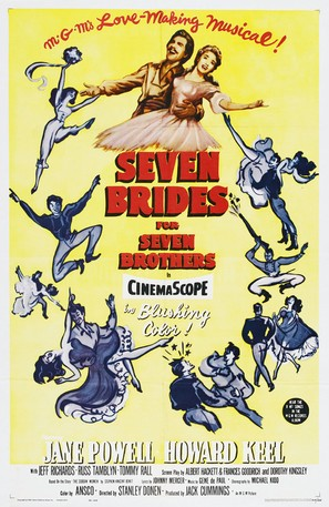 Seven Brides for Seven Brothers - Movie Poster (thumbnail)