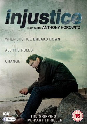"""""""Injustice"""" - British DVD movie cover (thumbnail)"""
