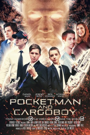 Pocketman And Cargoboy 2018 Movie Posters