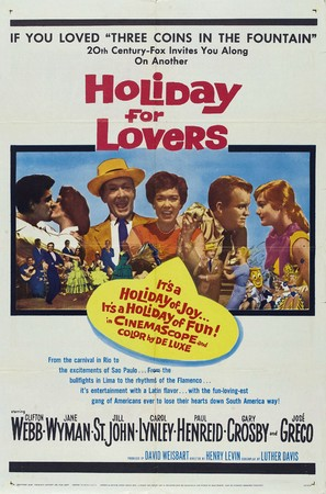 Holiday for Lovers - Movie Poster (thumbnail)