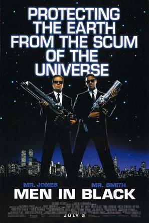 Men In Black - Movie Poster (thumbnail)