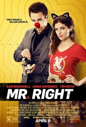 Mr. Right - Movie Poster (thumbnail)