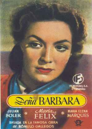 Doña Bárbara - Spanish Movie Poster (thumbnail)