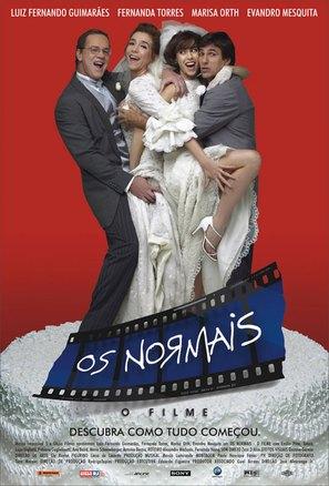 Normais, Os - Brazilian Movie Poster (thumbnail)