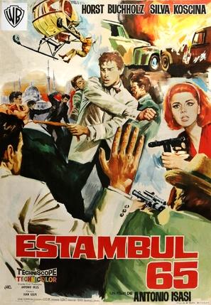 Estambul 65 - Spanish Movie Poster (thumbnail)