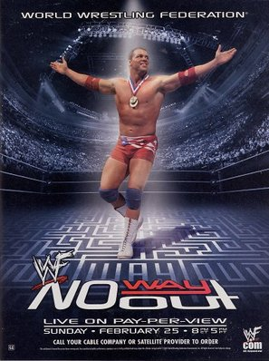 WWF No Way Out - Movie Poster (thumbnail)