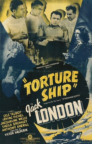 Torture Ship - Movie Poster (thumbnail)