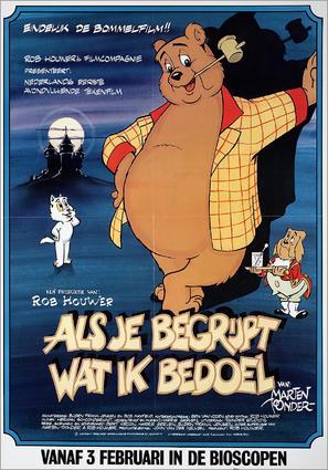 Als je begrijpt wat ik bedoel - Dutch Movie Poster (thumbnail)