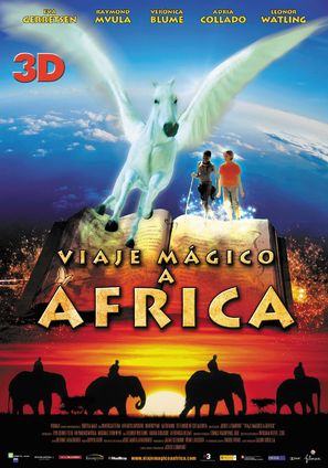 Magic Journey to Africa - Spanish Movie Poster (thumbnail)