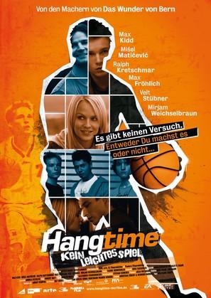 Hangtime - Kein leichtes Spiel - German Movie Poster (thumbnail)
