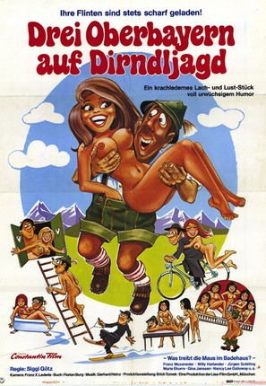 Drei Bayern in Bangkok - German Movie Poster (thumbnail)