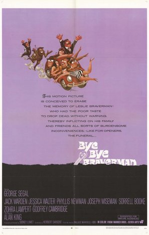Bye Bye Braverman - Movie Poster (thumbnail)