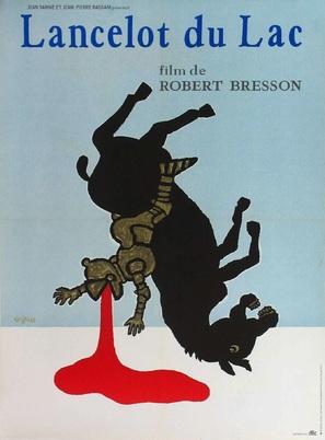 Lancelot du Lac - French Movie Poster (thumbnail)
