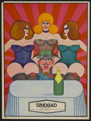 Szindbád - Polish Movie Poster (thumbnail)