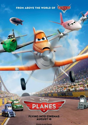 Planes - British Movie Poster (thumbnail)