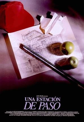 Estación de paso, Una - Spanish Movie Poster (thumbnail)