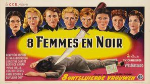 La nuit des suspectes - Belgian Movie Poster (thumbnail)