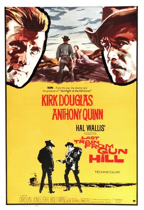Last Train from Gun Hill - Movie Poster (thumbnail)