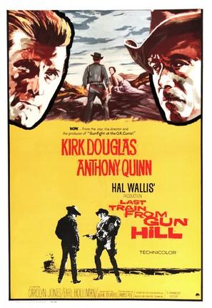 Last Train from Gun Hill - Movie Poster (thumbnail)