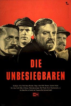 Die Unbesiegbaren - German Movie Poster (thumbnail)