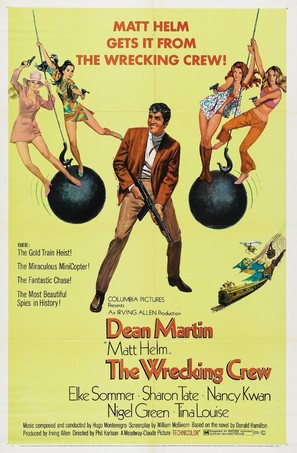 The Wrecking Crew - Movie Poster (thumbnail)