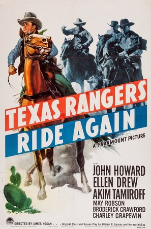 The Texas Rangers Ride Again - Movie Poster (thumbnail)