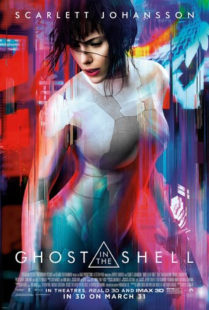 Ghost in the Shell - Movie Poster (thumbnail)