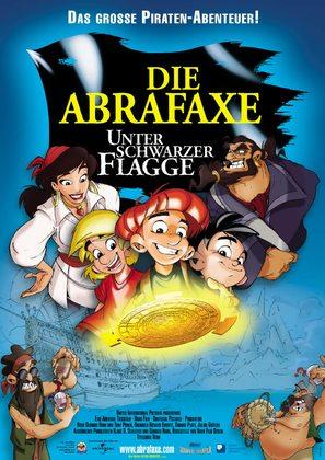 Abrafaxe - Unter schwarzer Flagge, Die - German Movie Poster (thumbnail)