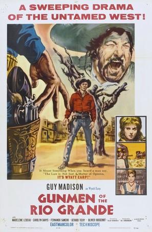 Desafío en Río Bravo - Movie Poster (thumbnail)
