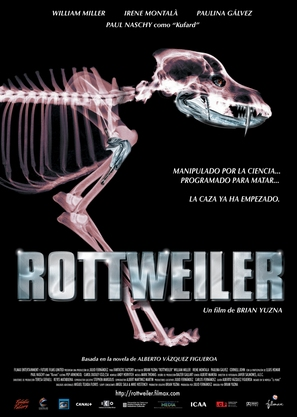 Rottweiler - Spanish Movie Poster (thumbnail)