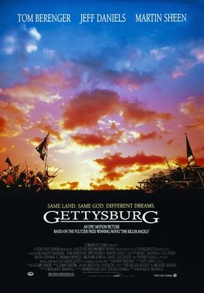 Gettysburg - Movie Poster (thumbnail)