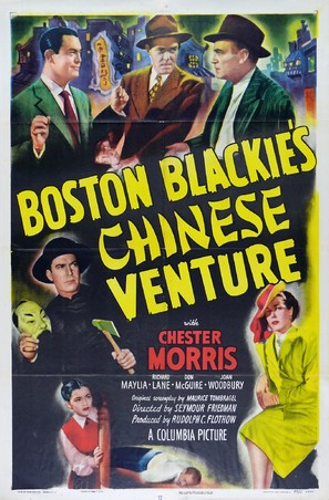 Boston Blackie's Chinese Venture - Movie Poster (thumbnail)