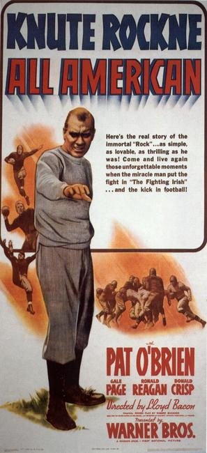 Knute Rockne All American - Movie Poster (thumbnail)