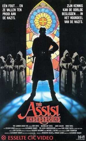 The Assisi Underground - Dutch Movie Cover (thumbnail)