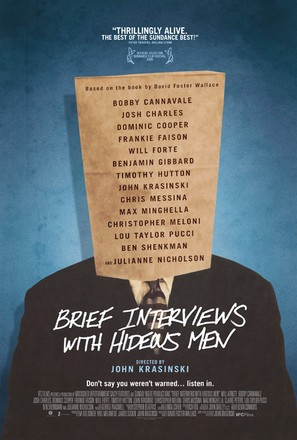 Brief Interviews with Hideous Men - Movie Poster (thumbnail)