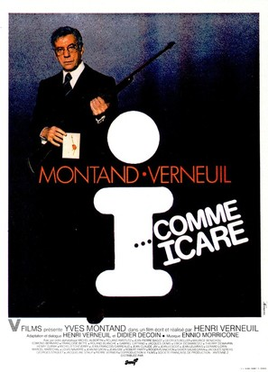 I... comme Icare - French Movie Poster (thumbnail)