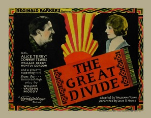 The Great Divide - British Movie Poster (thumbnail)