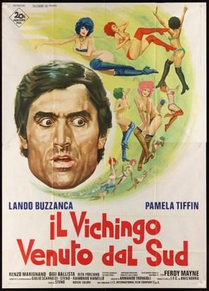 Il vichingo venuto dal sud - Italian Movie Poster (thumbnail)