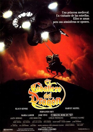 El caballero del dragón - Spanish Movie Poster (thumbnail)