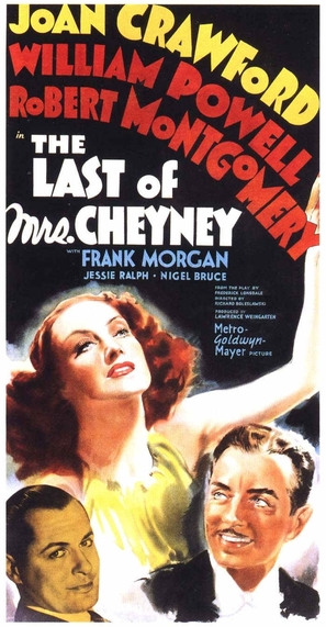 The Last of Mrs. Cheyney - Movie Poster (thumbnail)