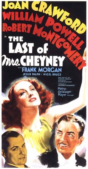 The Last of Mrs. Cheyney - Movie Poster (thumbnail)